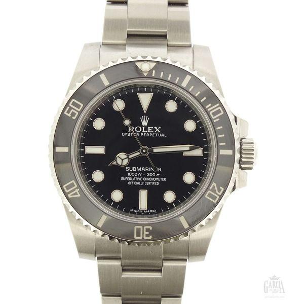 Rolex Submariner ID 114060