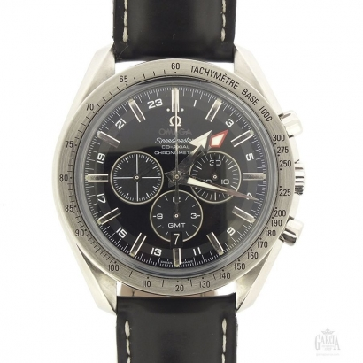 Omega Speedmaster Broad Arrow GMT