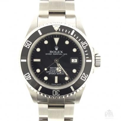 Rolex Sea Dweller Stahl