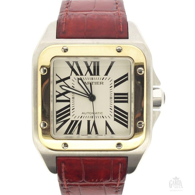 Cartier Santos 100 XL Steel & Gold