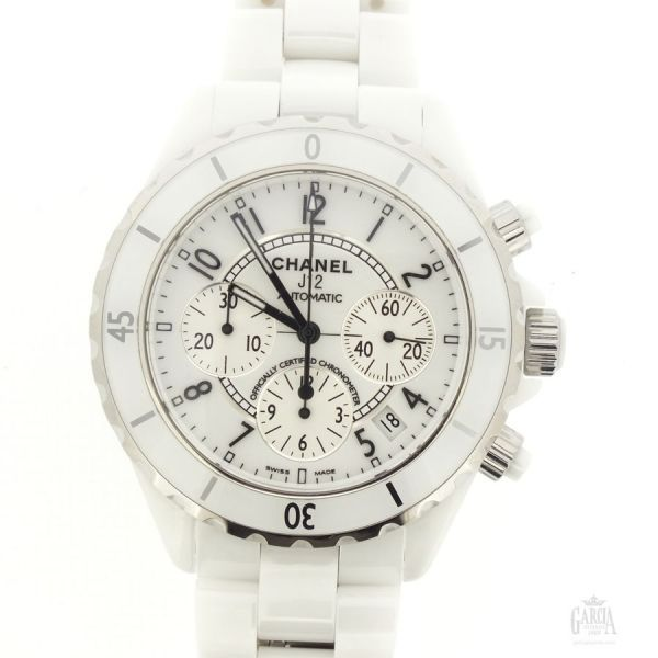 Chanel J12 Chronograph Ceramic