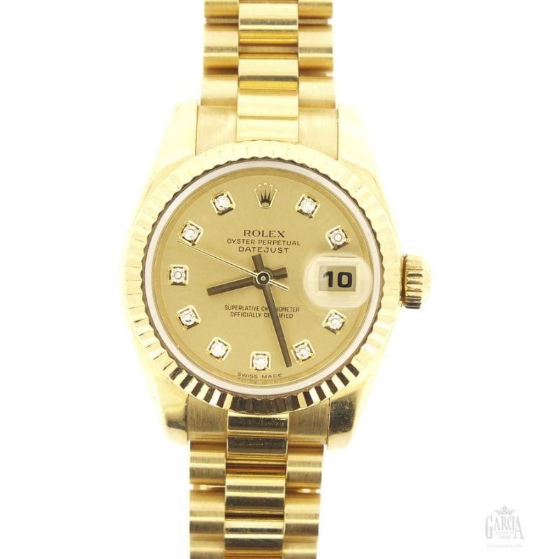 Rolex Lady Datejust Gold
