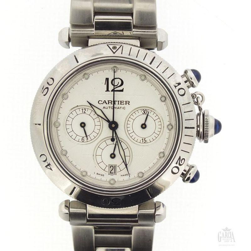 Cartier Pasha Chronograph 2113