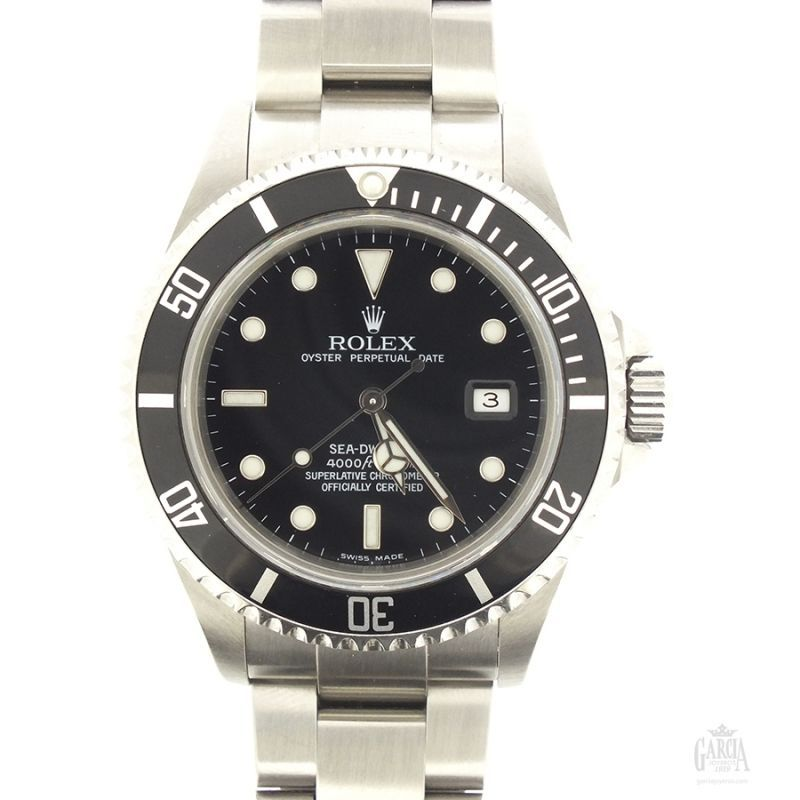 Rolex Sea Dweller Steel