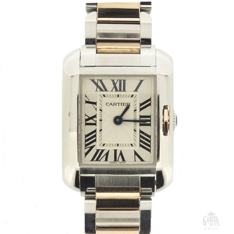 Cartier Tank Anglaise Lady
