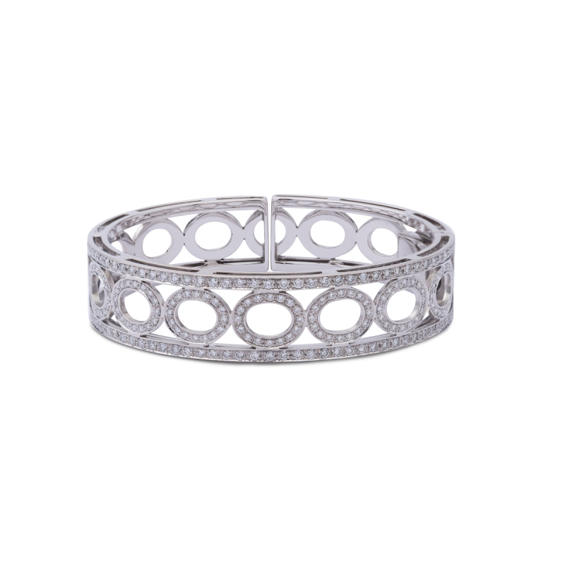 Brazalete diamantes