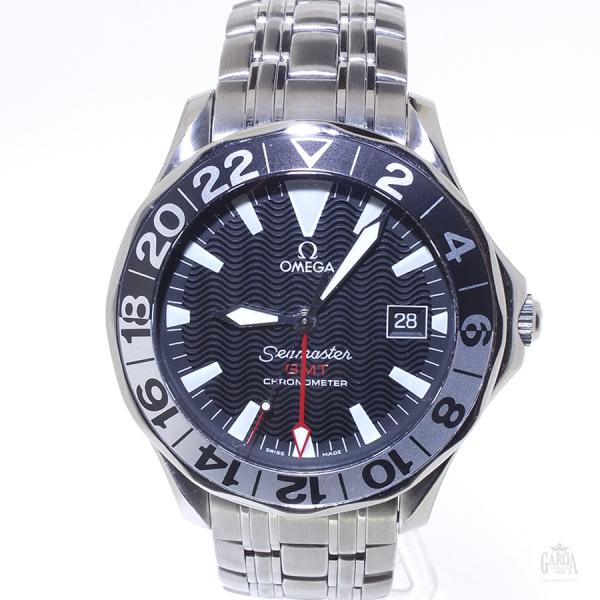 Omega Seamaster GMT