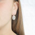 Pendientes ovalados Diamantes