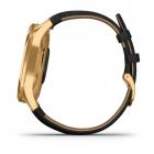 Garmin vívomove® Luxe Gold - Piel negra