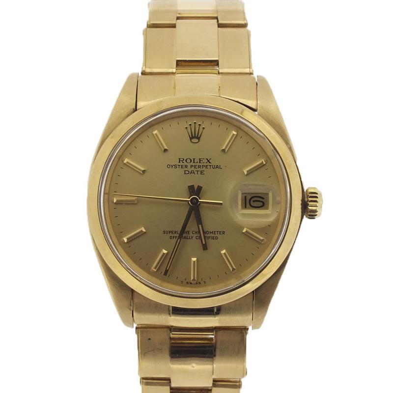 Rolex Date 18 K