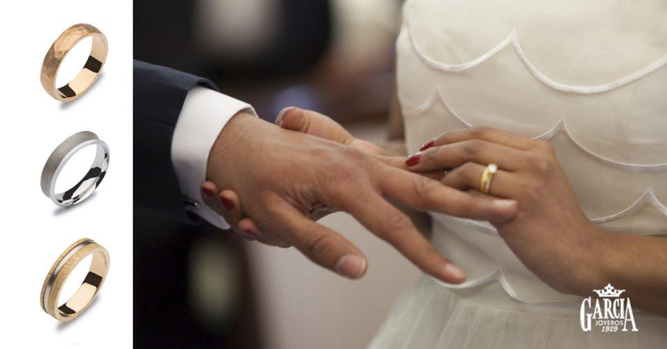 cd5a33f0cbd2 Texturas originales para anillos de boda - García Joyeros